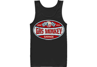 Gas Monkey Garage Label Tank Top M