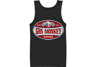 Gas Monkey Garage Label Tank Top L