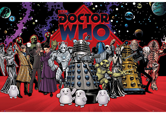 Doctor Who Poster Villains Compilation