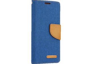 AGM Bookstyle Fashion Galaxy S8 Handyhülle, Blau/Braun