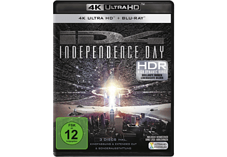 Independence Day - Extended Cut - (4K Ultra HD Blu-ray + Blu-ray)