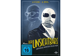 Der Unsichtbare - Universal-Monster-Complete-DVD-Collection (6 Discs) - (DVD)