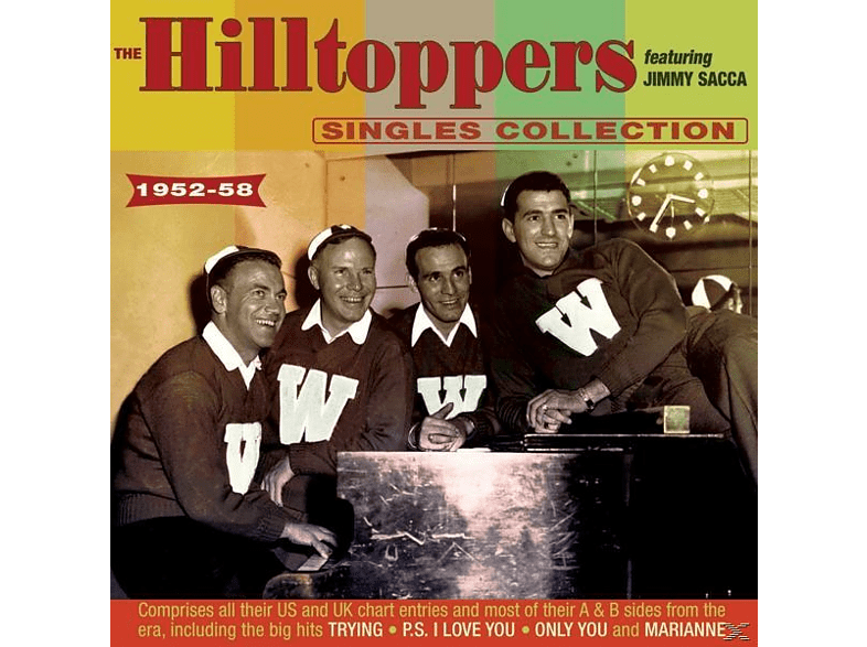 The Hilltoppers, Jimmy Sacca - The Singles Collection As & Bs 1952-58 [CD]