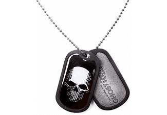 Ghost Recon Wildlands Logo und Totenkopf Dog Tag