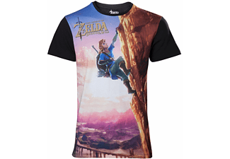 Zelda Breath of the Wild - Link Climbing - T-Shirt - L