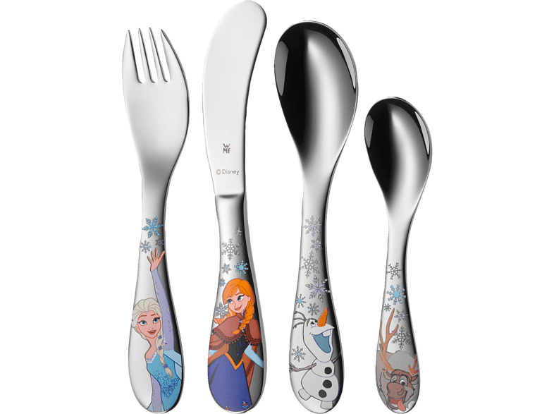 WMF 12.8600.6040 Disney Frozen 4-tlg. Kinderbesteck-Set