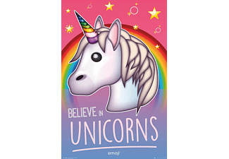 GB EYE Emoji Poster Believe in Unicorns Poster
