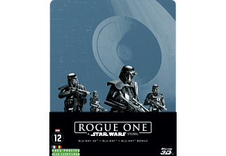 Rogue One: A Star Wars Story Steelbook Blu-ray 3D + 2D