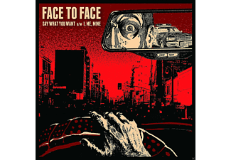 Face To Face - Say What You Want - (Vinyl)