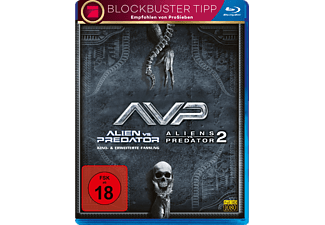 Alien vs. Predator, Aliens vs. Predator 2 - (Blu-ray)