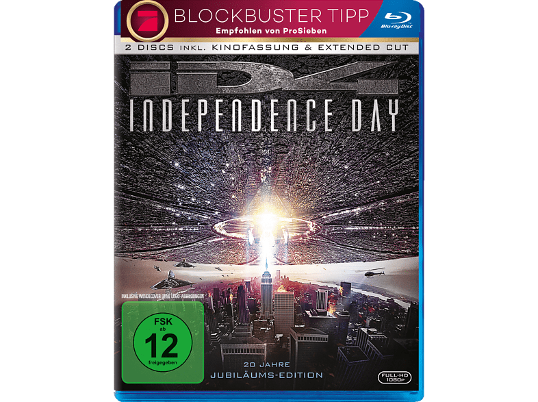 Independence Day (Extended Cut) [Blu-ray]