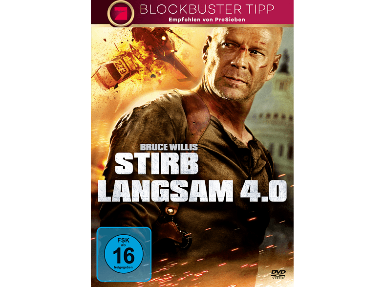Stirb Langsam 4.0 [DVD]