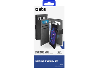 SBS MOBILE Duo Wallet Case för Galaxy S8
