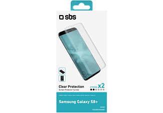 SBS MOBILE Screen Protector för Galaxy S8+