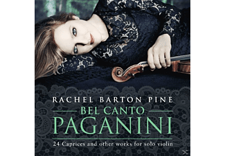 Rachel Barton Pine - Bel Canto Paganini:24 Caprices And Other Works - (CD)