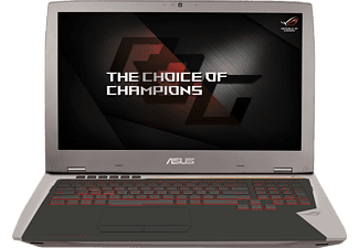 ASUS G701VIK-BA045T, Gaming Notebook mit 17.3 Zoll Display, Core™ i7 Prozessor, 32 GB RAM, 512 GB SSD, 512 GB SSD, GeForce GTX 1080, Grau