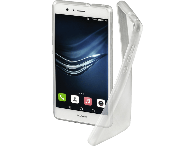 HAMA Crystal Clear Backcover Huawei P10 Lite Thermoplastisches Polyurethan Transparent