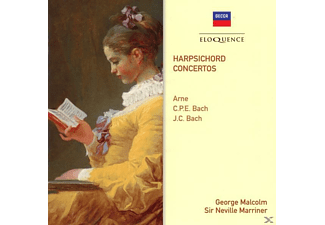 George Malcolm, Academy of St. Martin in the Fields - Cembalokonzerte - (CD)