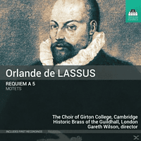 Choir of Girton College Cambridge, Lucy Morrell, Historic Brass of the Guildhall London - Requiem a 5/Motetten [CD]
