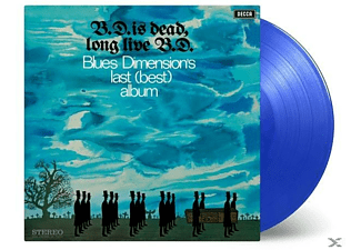 Blues Dimension - B.D.Is Dead,Long Live B.D.(LTD Transparent Blue) - (Vinyl)