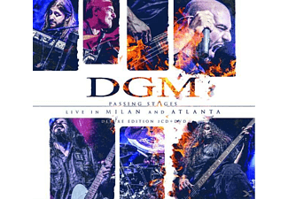 DGM - Passing Stages: Live In Milan And Atlanta - (CD + DVD Video)