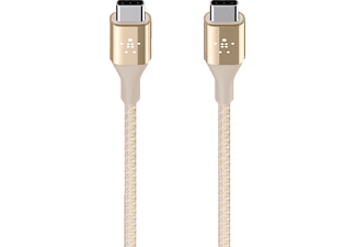 BELKIN DuraTek, Ladekabel, 1.2 m, Gold