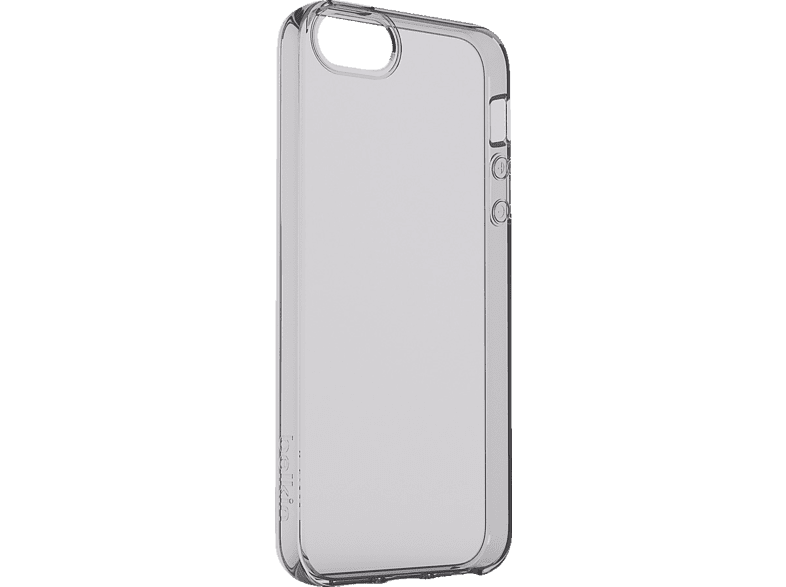 BELKIN Air Protect Backcover Apple iPhone SE Thermoplastisches Polyurethan Transparent Grau   00745883717996