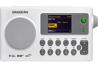 SANGEAN Internetradio DAB+ WiFi (SIR100WIT)