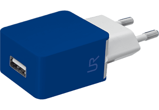 URBAN REVOLT SMARTPHONE WALL CHARGER BLUE