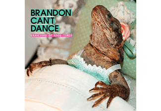 Brandon Can't Dance - Graveyard Of Good Times (Ltd.Red Vinyl LP+MP3) - (LP + Download)