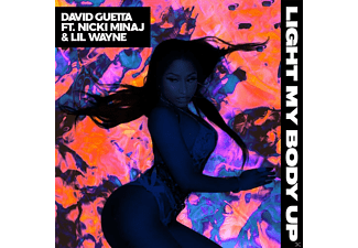 David Guetta, Nicki Minaj, Lil Wayne - Light My Body Up - (5 Zoll Single CD (2-Track))