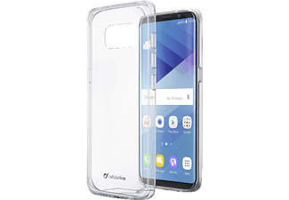 CELLULAR LINE CLEARDUOGALS8T Clear Duo Handyhülle, Transparent, passend für Samsung Galaxy S8