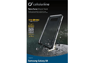 CELLULAR LINE Tetra Force Shock-Twist , Backcover, Samsung, Galaxy S8, Thermoplastisches Polyurethan/Versaflex™/Polycarbonat I.D.S. Impact Dissipating System™, Schwarz