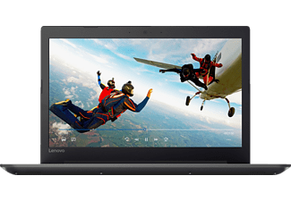 LENOVO IdeaPad 320, Notebook mit 15.6 Zoll Display, A12 Prozessor, 8 GB RAM, 1 TB HDD, 128 GB SSD, Radeon 530, Onyx Black