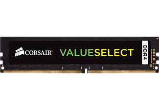 CORSAIR Value Select, PC Arbeitsspeicher, 8 GB DDR4