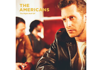 The Americans - The Right Stuff EP (Minialbum) - (CD)
