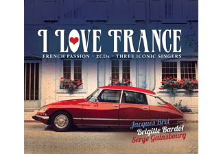 VARIOUS - I Love France - (CD)