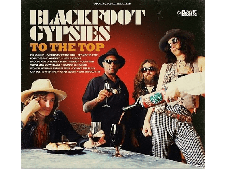 Blackfoot Gypsies - To The Top [CD]