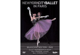 Peter/new York City Ba Martins - New York City Ballet in Paris - (DVD)
