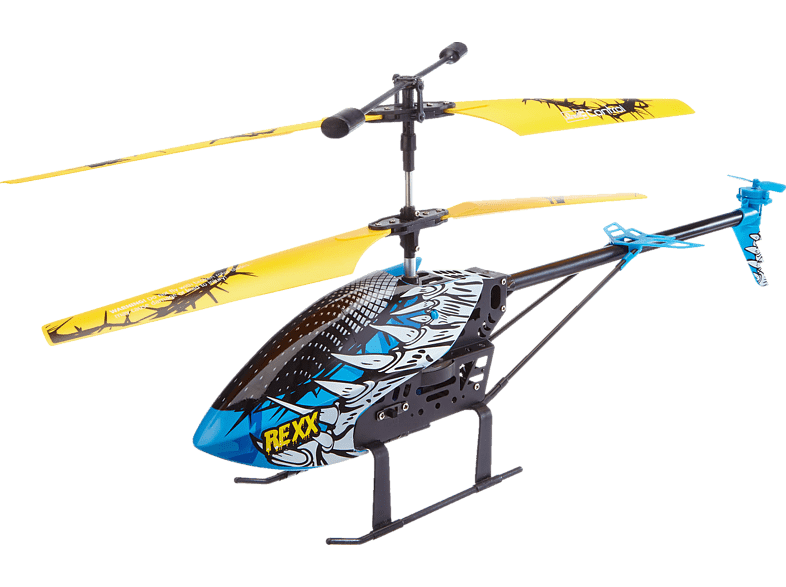 REVELL 23868 Helicopter Rexx Helicopter, Mehrfarbig