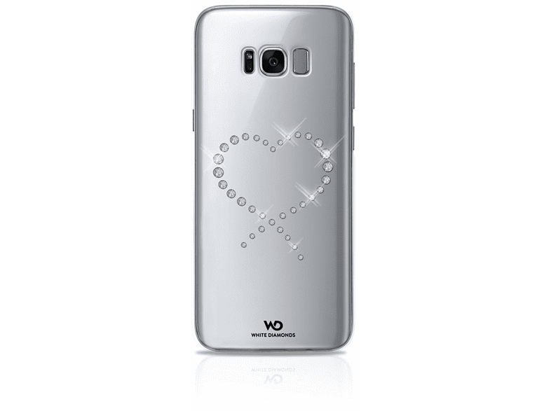 WHITE DIAMONDS Eternity Backcover Samsung Galaxy S8+ Kunststoff Crystal