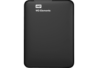 WD Elements™, 750 GB HDD, 2.5 Zoll, extern