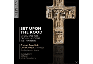 Webber/Choir Of Gonville & Caius College Cambridge - Set upon the Rood - (CD)
