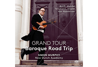 Simon/new Dutch Academy Murphy - Grand Tour-Baroque Road Trip - (SACD Hybrid)