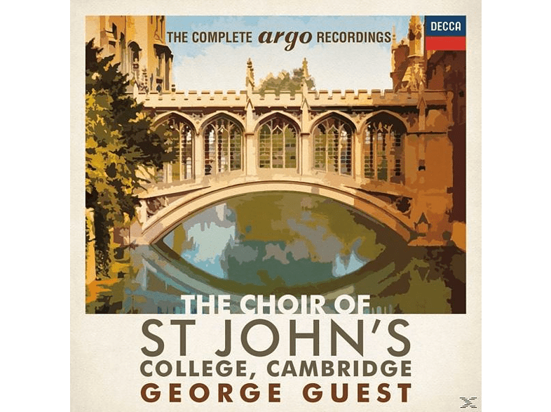 The Choir Of Saint John's College, Cambridge - The Complete Argo Recordings [CD]