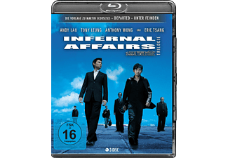 Infernal Affairs Trilogie - (Blu-ray)