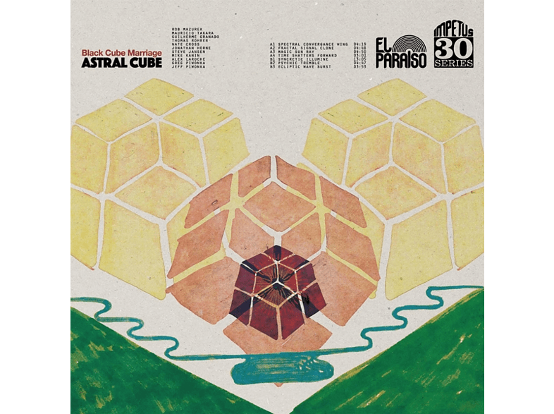 Black Cube Marriage - Astral Cube [LP + Download]