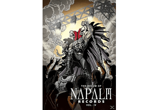 VARIOUS - The Realm Of Napalm Records Vol.4 (Incl.CD) - (DVD + CD)