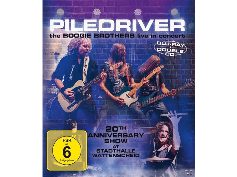 Piledriver - The Boogie Brothers Live In Concert [CD + Blu-ray Disc]