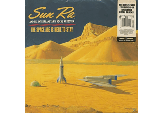 Sun & His Arkestra Ra - The Space Age Is Here To Stay (2-LP,Colored Vinyl - (Vinyl)